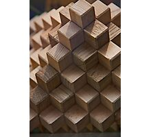 Building Blocks Photographic Print