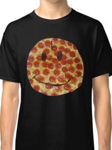 Pizza Smiley Classic T-Shirt