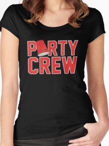 Party Crew Women's Fitted Scoop T-Shirt