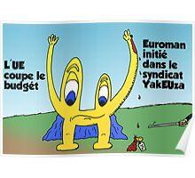 BD de Euroman couper par l'UE Poster