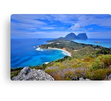 A view from Malabar Canvas Print
