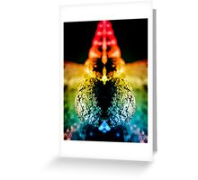 Love Letter for Roy G Biv Greeting Card