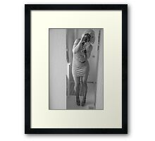 All Dressed Up With Nowhere To Ho Framed Print