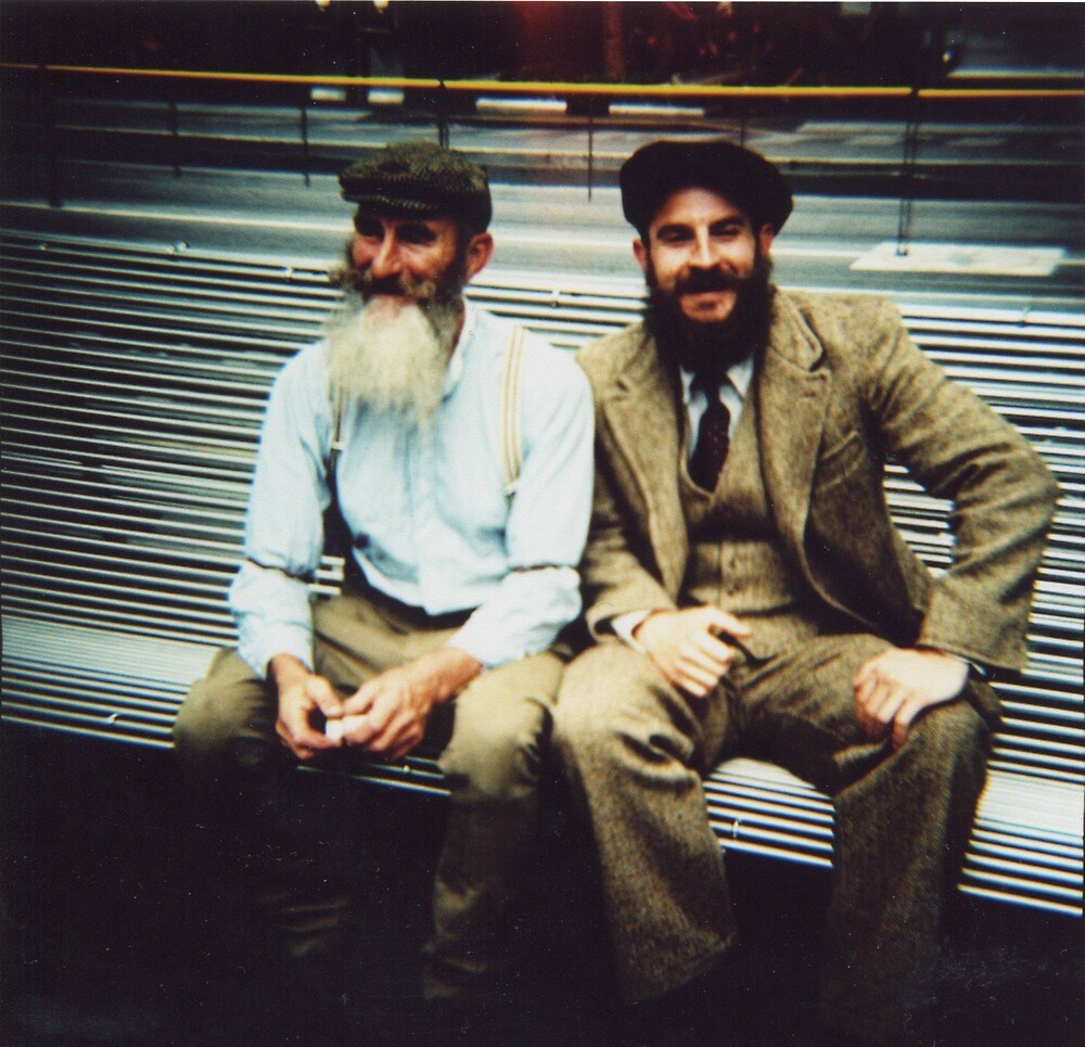 Tweed Ride characters by Sally McColl