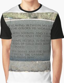 My Mother, Mary Jane Young's, Gravestone Graphic T-Shirt