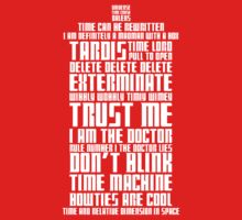 The Doctor Tardis One Piece - Short Sleeve