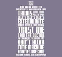 The Doctor Tardis Kids Tee