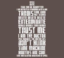 The Doctor Tardis Grunge version One Piece - Short Sleeve