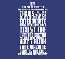 The Doctor Tardis Grunge version Unisex T-Shirt