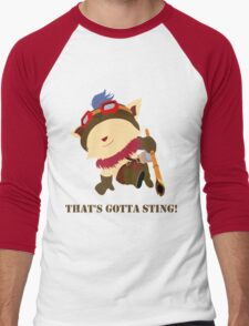 That's gotta sting! Men's Baseball ¾ T-Shirt
