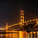 The Golden Gate Bridge from Horseshoe Bay by James Watkins