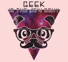 Cool Panda Geek - geek is the new sexy Kids Tee