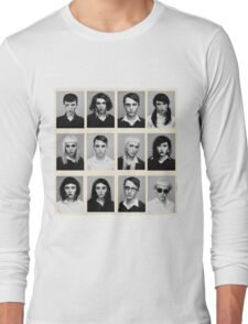 YEARBOOK (Complete Grid) Long Sleeve T-Shirt
