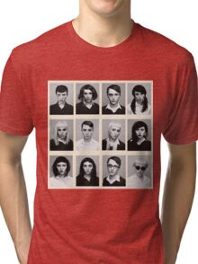 YEARBOOK (Complete Grid) Tri-blend T-Shirt