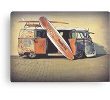 Kombi Love Canvas Print