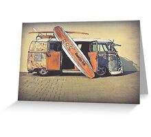 Kombi Love Greeting Card