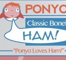 Ponyo's Ham Sticker