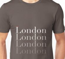 London (fading) Unisex T-Shirt