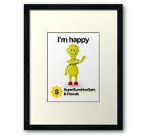 Super Sunshine Sam & Friends - Sam Framed Print
