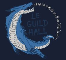 Monster Hunter Le Guild Hall-Lagiacrus Version 2 Base Colors One Piece - Long Sleeve