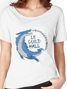 Monster Hunter Le Guild Hall-Lagiacrus Version 2 Base Colors Women's Relaxed Fit T-Shirt