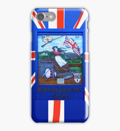 ulster freedom iPhone Case/Skin