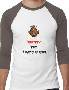 Only One Girl On Our Planet BRUSSY Men's Baseball ¾ T-Shirt