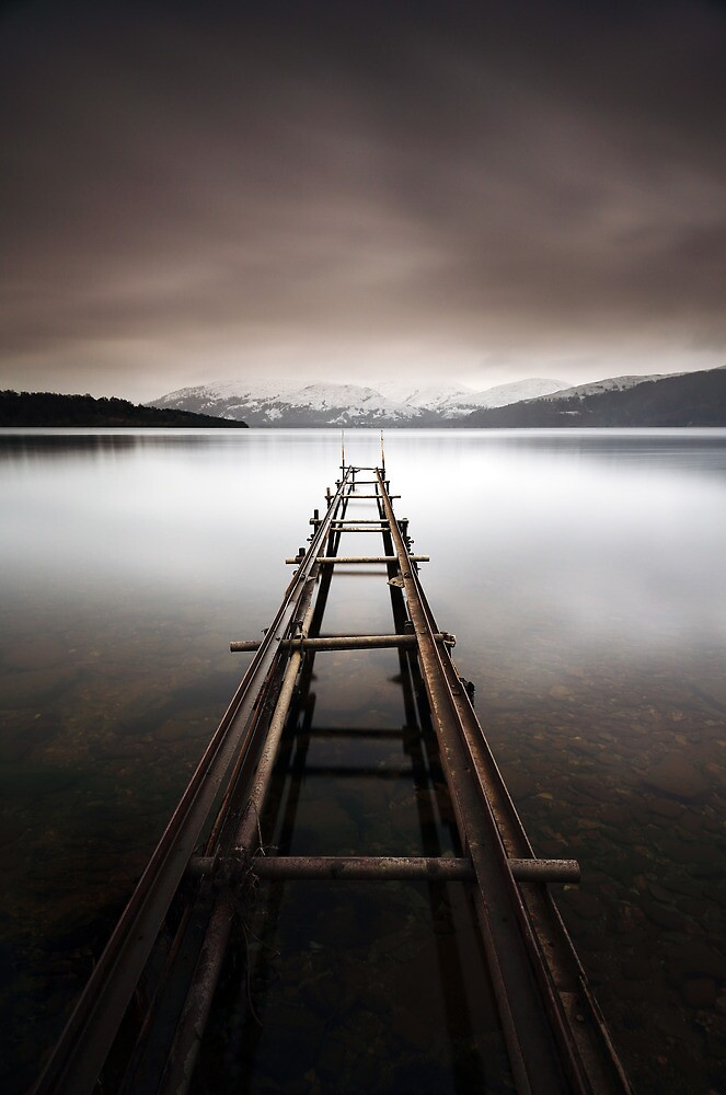Loch Lomond Jetty by Grant Glendinning