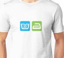 WASHING SYMBOLS Unisex T-Shirt