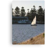 Grass, Wind & Boats Canvas Print