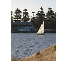 Grass, Wind & Boats Photographic Print