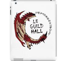 Monster Hunter Le Guild Hall-Rathalos Version 2 Base Colors iPad Case/Skin
