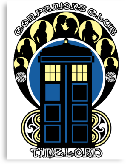 Timelord Companions Club by Ameda Nowlin