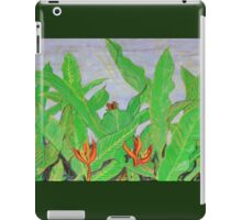 Thai leaves blowing in the Breeze. iPad Case/Skin