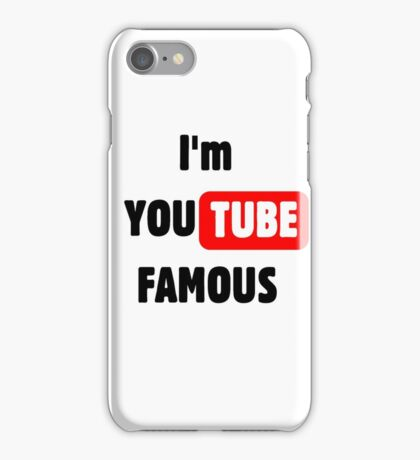 You tube Famous iPhone Case/Skin
