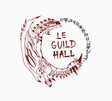 Monster Hunter Le Guild Hall-Rathalos Version 1 Uncolored Unisex T-Shirt