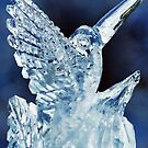 Learning Happiness-Ice Sculpture by Pamela Phelps