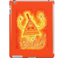 Bill Cipher - BURN!! iPad Case/Skin
