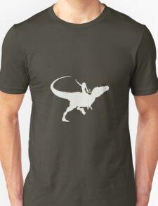 Yeehaa in white T-Shirt