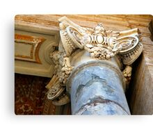 Pillar Capital - St Peter's Church - Vatican City - Rome Canvas Print