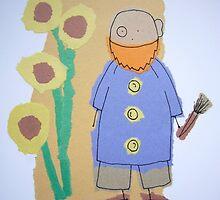 Little Artists: Van Gogh by Jonesyinc