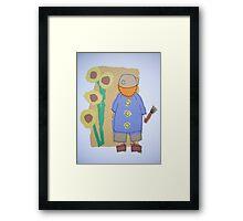 Little Artists: Van Gogh Framed Print