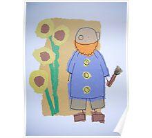 Little Artists: Van Gogh Poster