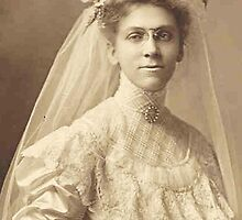 Cousin Lu ~ Bride-To-Be, 1908 by artwhiz47