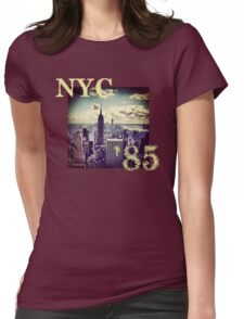 New York 85 Womens Fitted T-Shirt