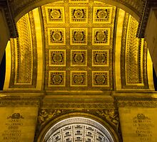 Arc de Triomphe by ericrmc