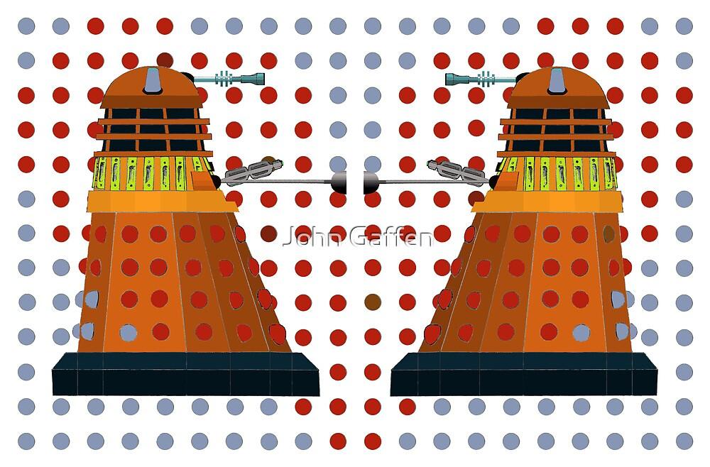 Dalek  Valentines by John Gaffen