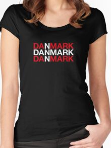 DENMARK Women's Fitted Scoop T-Shirt