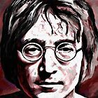 John Lennon 1 by artbyjames