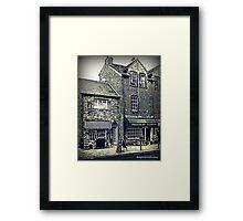 Prestbury Village Framed Print